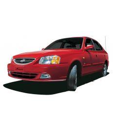 Hyundai Accent Red