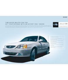 Hyundai Accent Silver Campaign