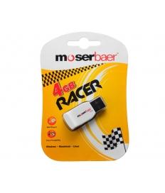 Moser Baer Racer WhBlck 4GB