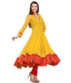 Aujjessa_Tasveer_Anarkali_Yellow_Red