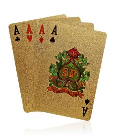 Groupon Tasveer_Golden_Playing_Cards999.9